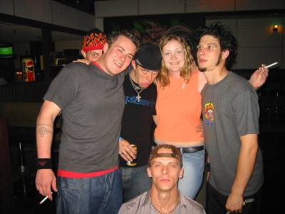 'Me' and the band 12 stones